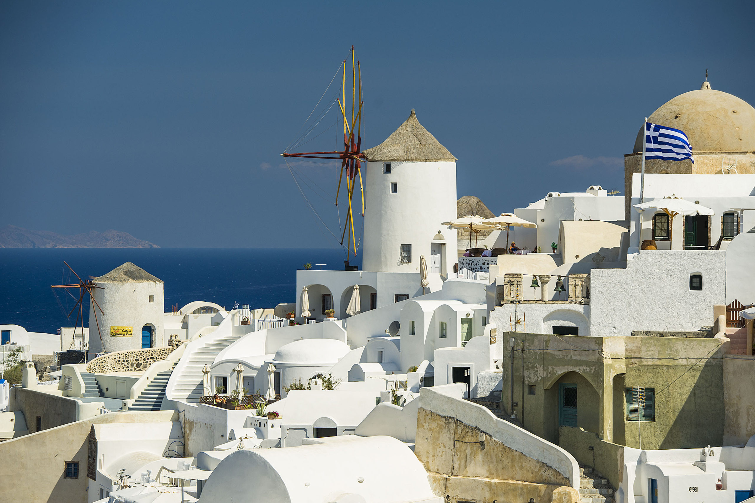Disney Cruise Line will return to the awe-inspiring beauty of Greece in summer 2021, as a part of the Disney Magic's grand tour of Europe. While visiting the Greek Isles, guests can marvel at the stunning landscapes and archeological wonders of the region, like Santorini with its iconic whitewashed cliffside dwellings. (Matt Stroshane, photographer)