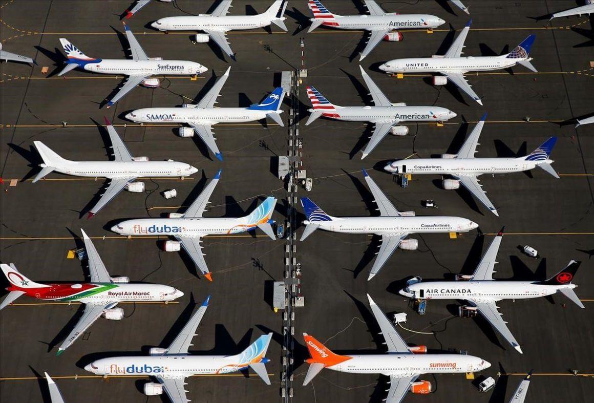 Impactante cambio en el tráfico aéreo 1