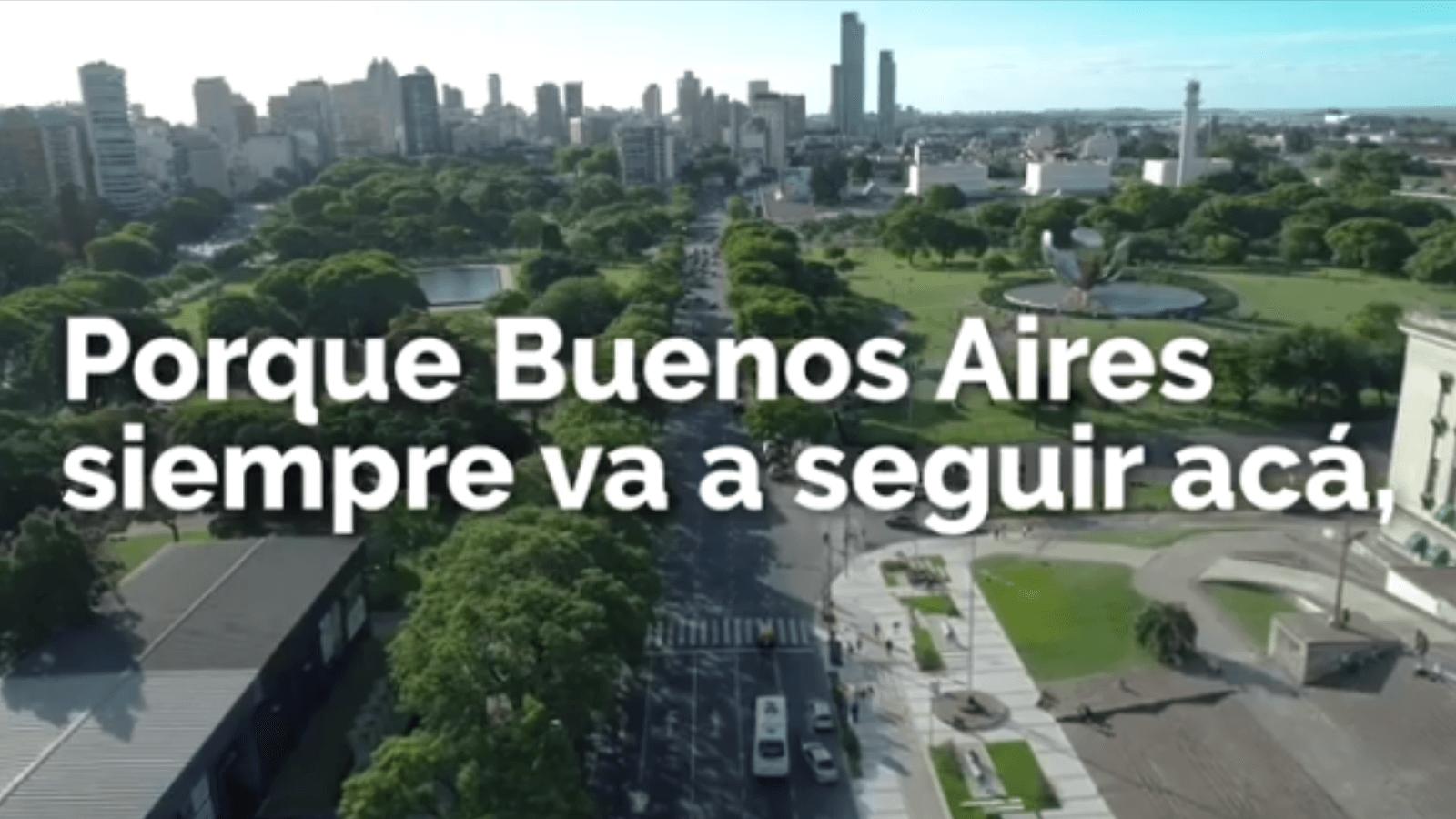 Buenos Aires promueve el quedate en casa con un vídeo para fomentar la importancia de cuidarte y cuidar a otros 1