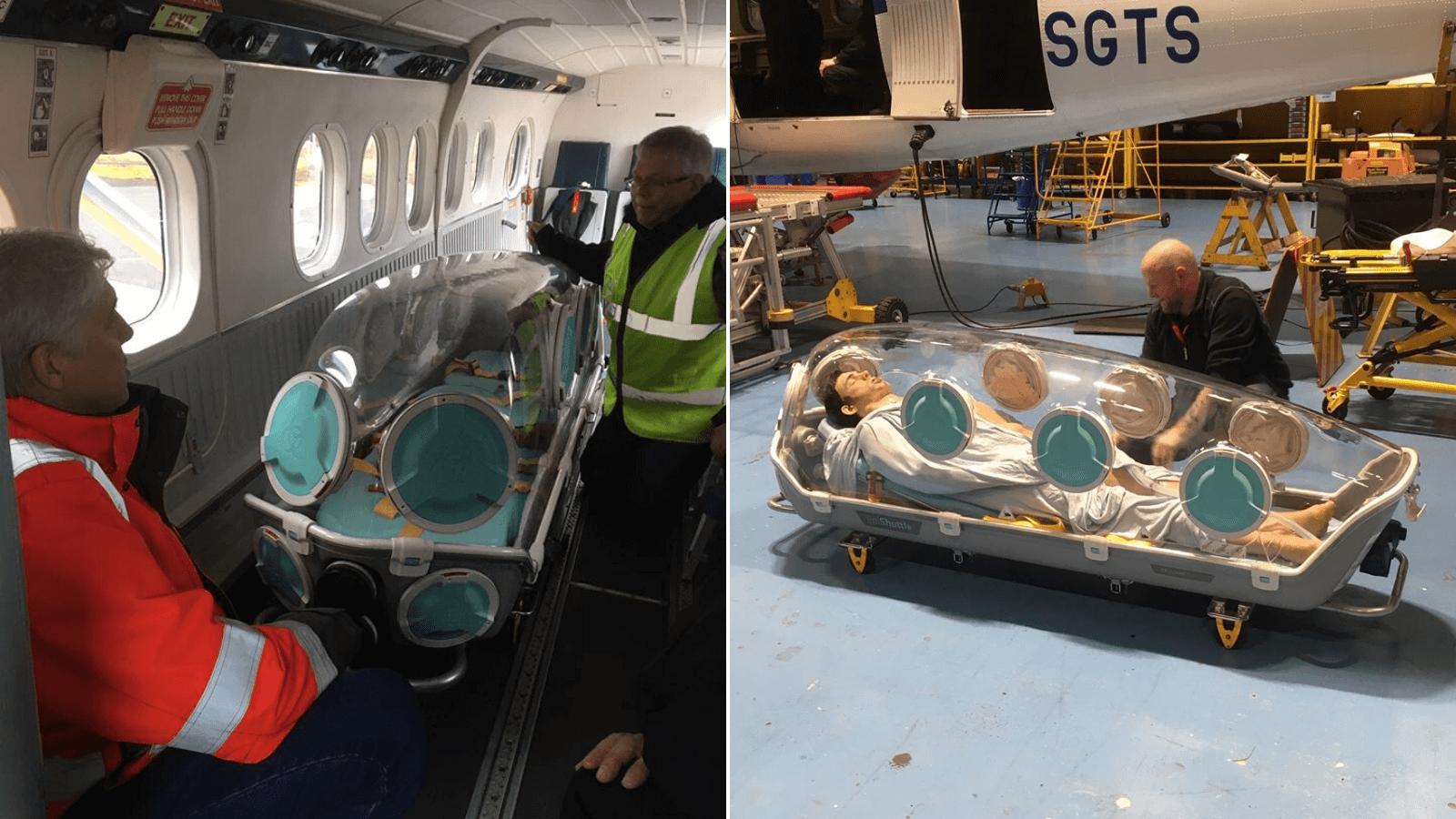 La aerolínea escocesa Loganair convertirá algunos de sus aviones en ambulancias especiales para luchar contra el brote de COVID-19 2