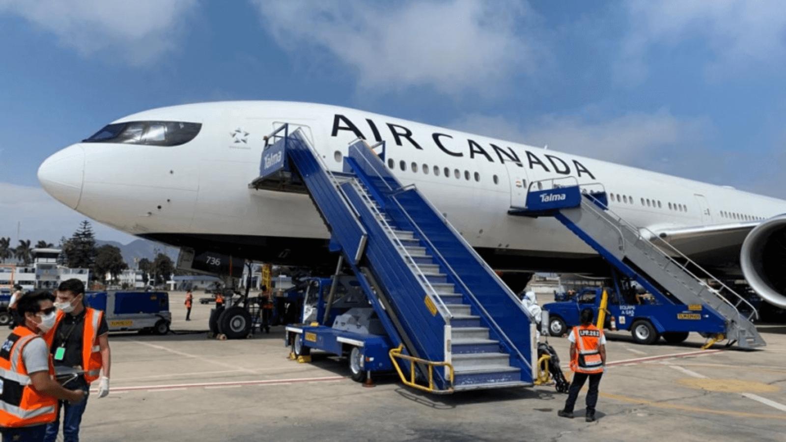 Air Canadá Más de 16.500 trabajadores fueron despedidos temporalmente como consecuencia de la suspensión de vuelos por el coronavirus 3