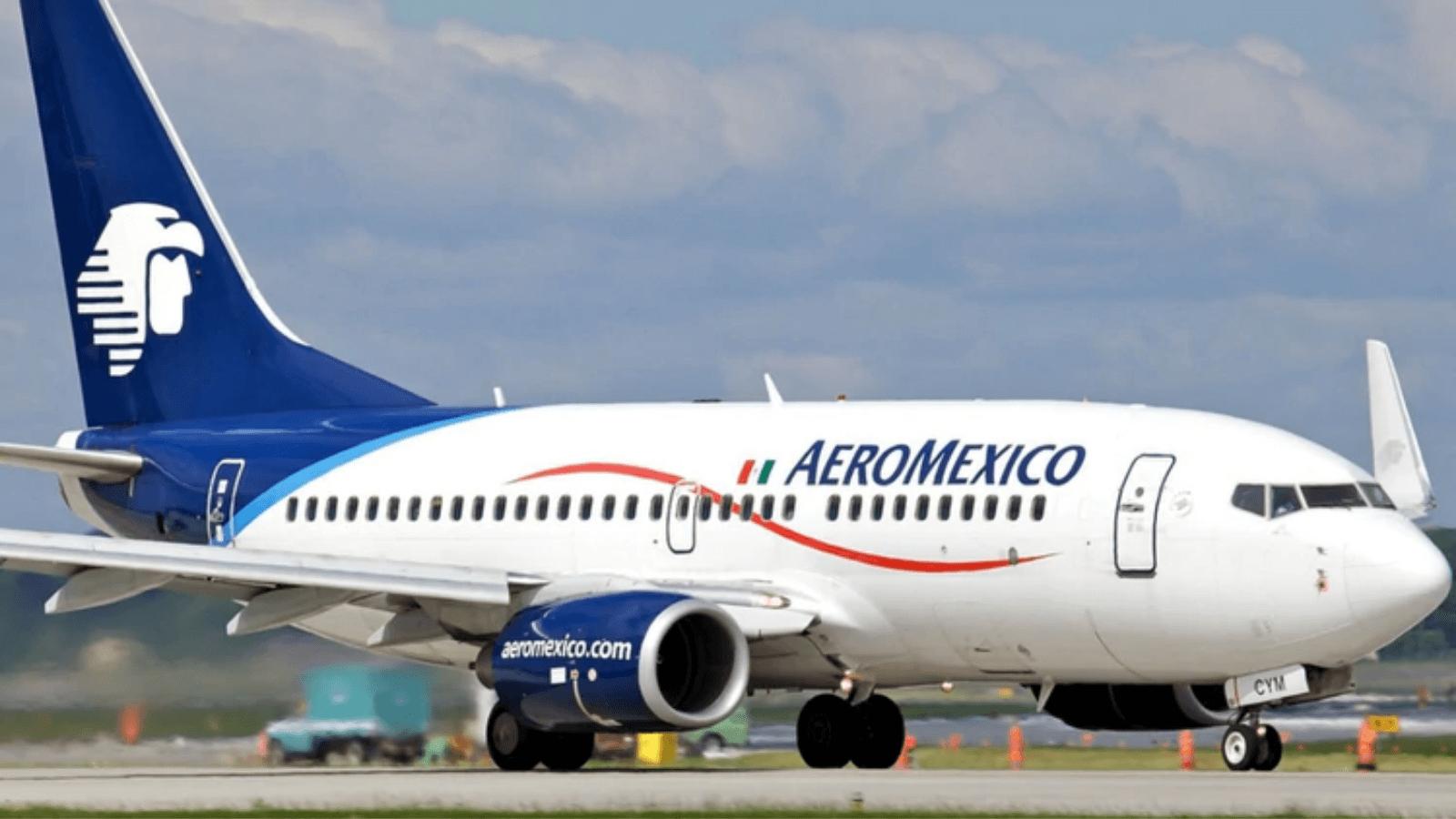 Con reducción de frecuencias, Aeroméxico comenzará a operar vuelos internacionales a partir de mayo 8