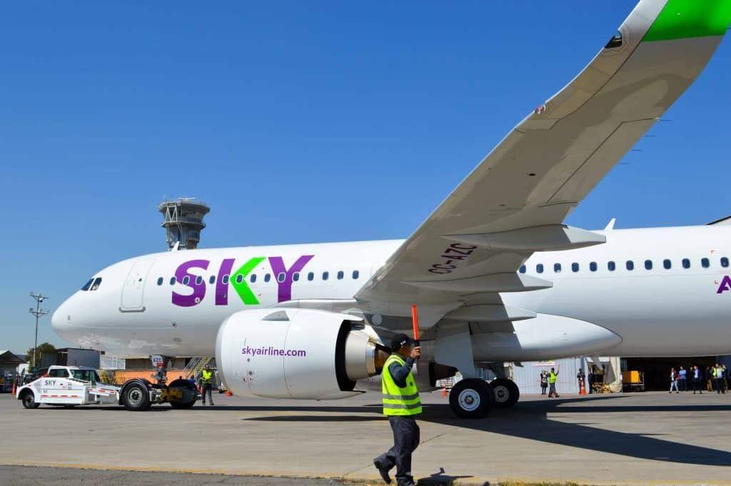 SKY anuncia nuevas medidas sanitarias para asegurar el bienestar de sus pasajeros 45