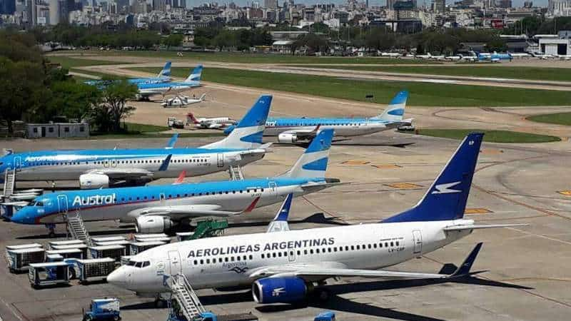 Aerolíneas Argentinas y Austral se fusionan para hacer frente al contexto de crisis por Covid-19