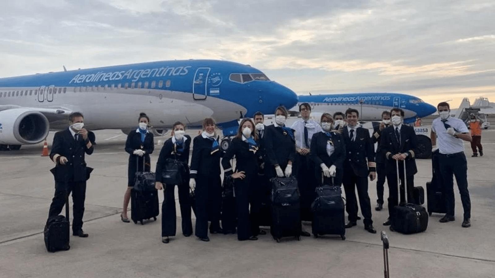 Aerolíneas Argentinas anuncia cinco nuevos vuelos especiales de repatriación 2