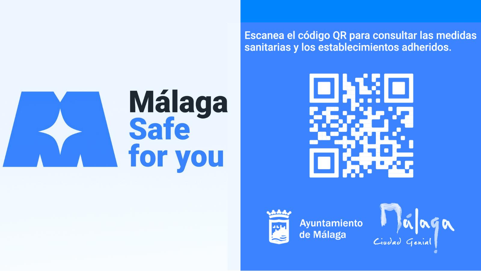 Málaga presenta su sello distintivo para identificar sitios que cumplen con protocolos de seguridad higiénico-sanitario 2