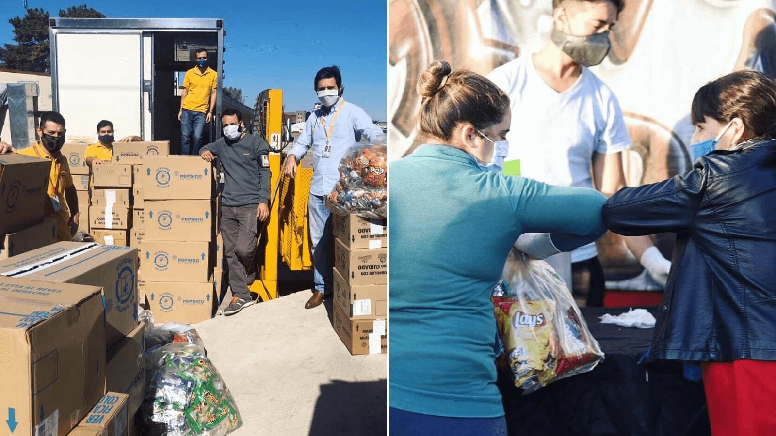 Ante la crisis por Covid-19, Flybondi dona más de 7.000 alimentos a comedores cercanos al Aeropuerto Internacional El Palomar