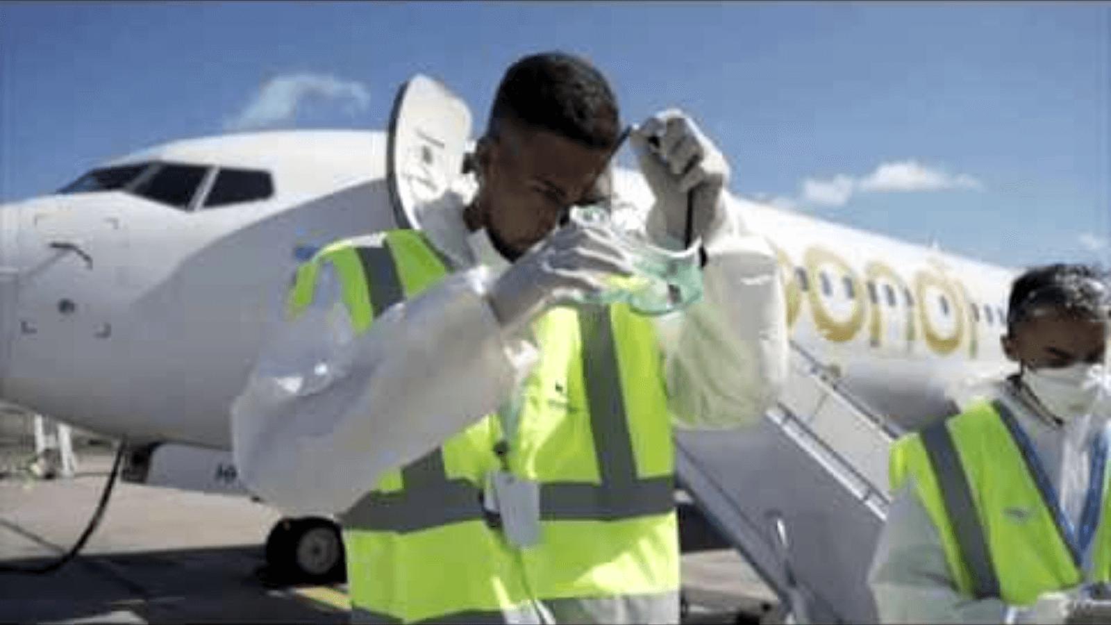 Flybondi muestra sus procesos de sanitización y desinfección en aviones