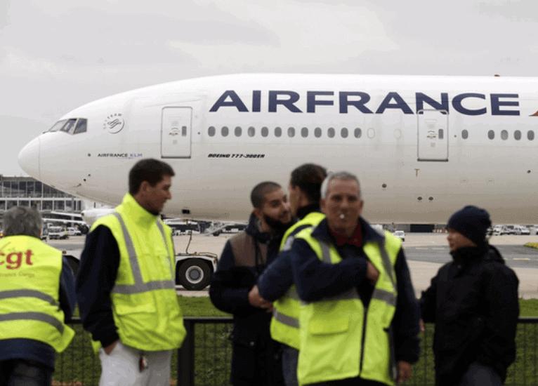 Air France pone en marcha un plan de reajuste 2