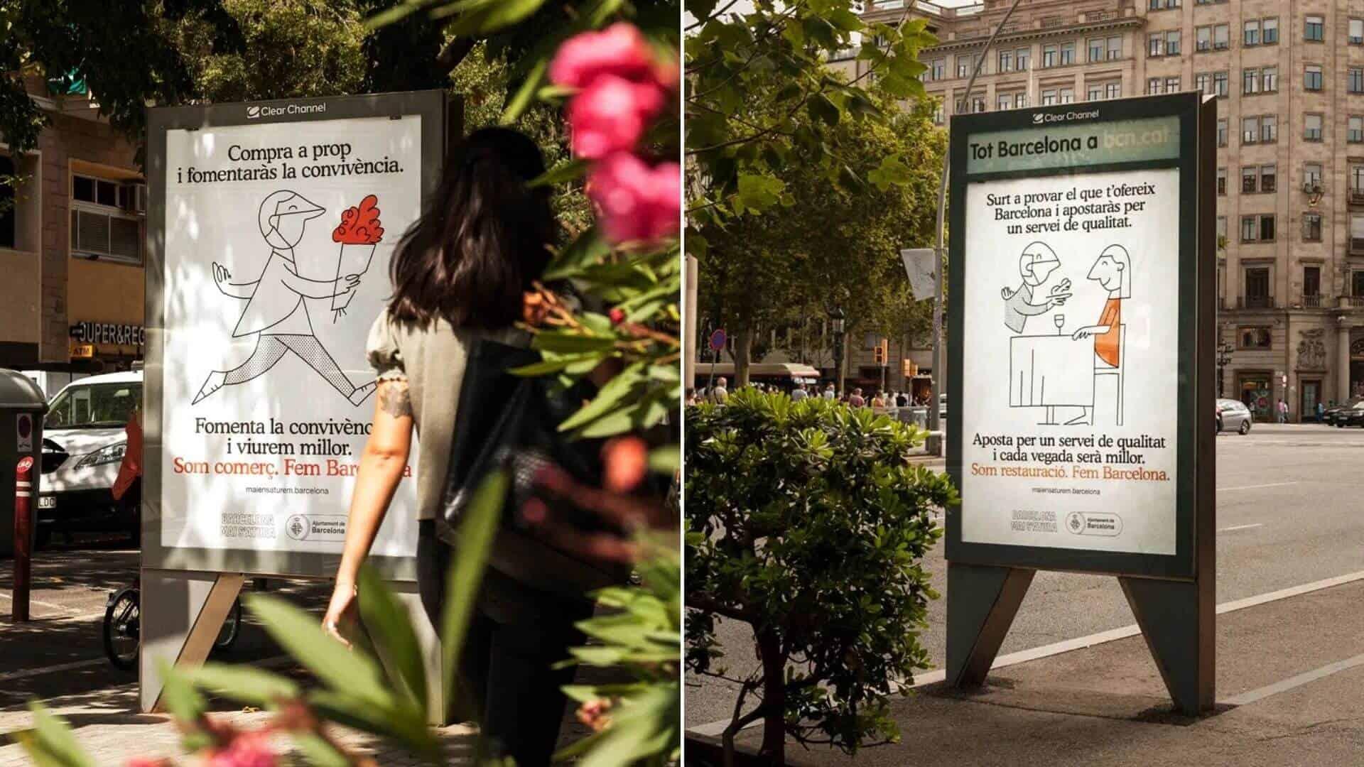 «Compra a prop» La campaña que apunta a promover el comercio local en Barcelona tras la crisis por COVID-19