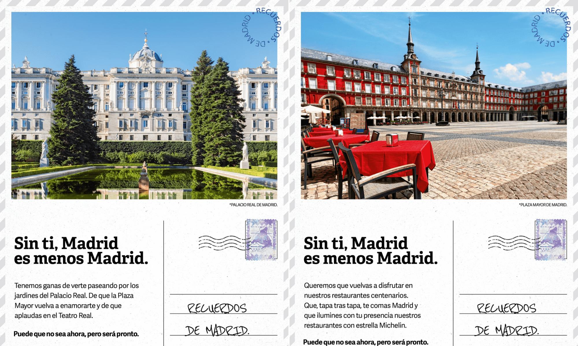 Recuerdos de Madrid la nueva campaña de promoción turística del Ayuntamiento de Madrid y la Comunidad de Madrid 1