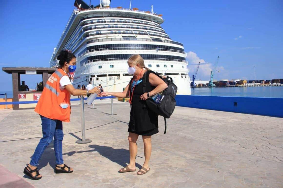 Yucatán reanuda operación de cruceros acatando estrictas medidas y protocolos de bioseguridad 3